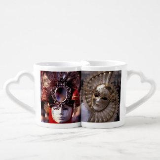 Carnival Masks Coffee Mug Set