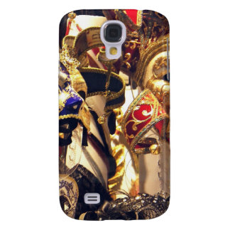 Carnival Masks from Venice Galaxy S4 Covers