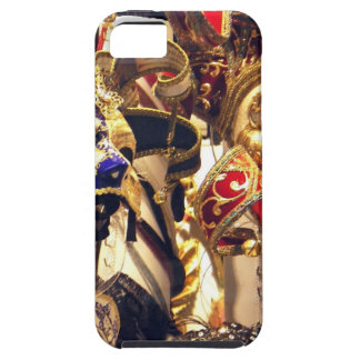 Carnival Masks from Venice iPhone 5 Covers