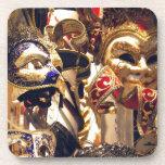 Carnival Masks from Venice Coaster
