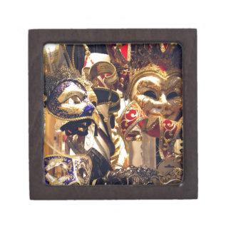Carnival Masks from Venice Premium Keepsake Boxes