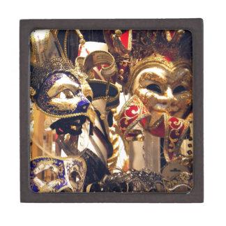 Carnival Masks from Venice Premium Trinket Box