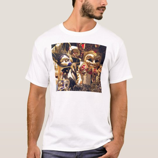 Carnival Masks from Venice T-Shirt