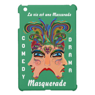 Carnival Masquerade Comedy Drama View Hints Plse Cover For The iPad Mini