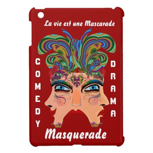 Carnival Masquerade Comedy Drama View Hints Plse Case For The iPad Mini