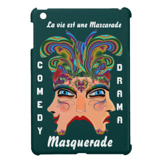 Carnival Masquerade Comedy Drama View Hints Plse iPad Mini Cases
