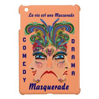 Carnival Masquerade Comedy Drama View Hints Plse iPad Mini Cover