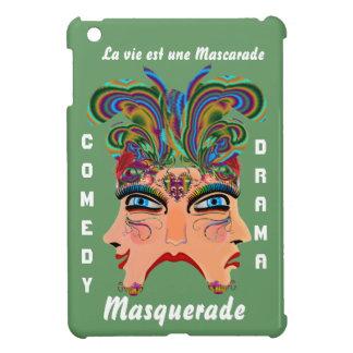 Carnival Masquerade Comedy Drama View Hints Plse iPad Mini Covers