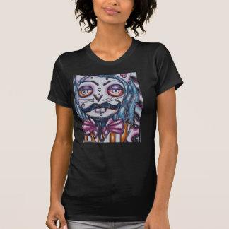 Carnival Mustached Rabbit Halloween Women's XL T-Shirt