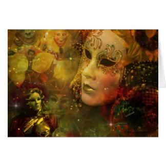 Carnival - New Orleans Mardi Gras Splendor Card