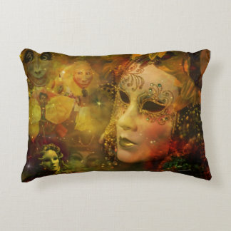 Carnival - New Orleans Mardi Gras Splendor Decorative Pillow