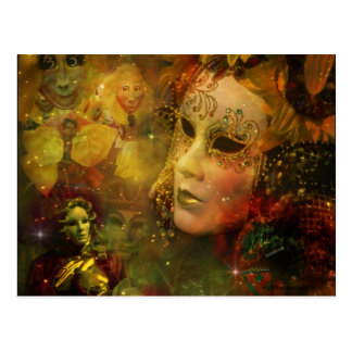 Carnival - New Orleans Mardi Gras Splendor Postcard