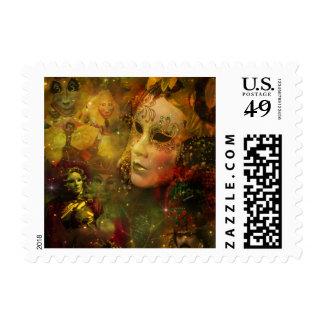 Carnival - New Orleans Mardi Gras Splendor Stamp
