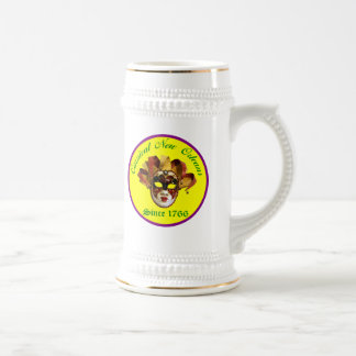 Carnival New Orleans Since 1766 18 Oz Beer Stein