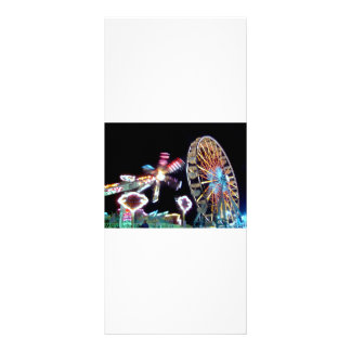 Carnival night fair ride photograph party picture! rack card template