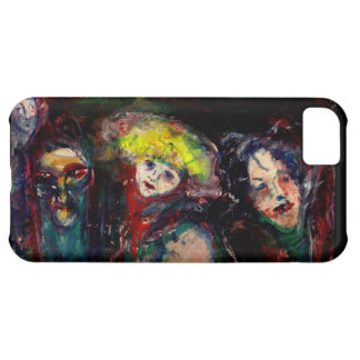 CARNIVAL NIGHT IN VENICE Venetian Masquerade Masks iPhone 5C Case