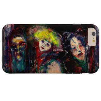 CARNIVAL NIGHT IN VENICE Venetian Masquerade Masks Tough iPhone 6 Plus Case
