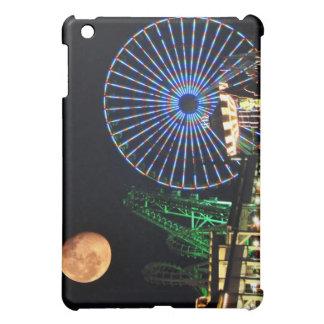 Carnival Night Under an Orange Moon  iPad Mini Cases