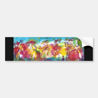 CARNIVAL NIGHT / Venetian Masquerade,Dance Music Bumper Sticker