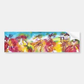 CARNIVAL NIGHT / Venetian Masquerade,,Dance Music Bumper Stickers