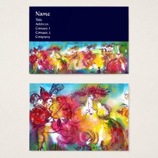 CARNIVAL NIGHT / Venetian Masquerade,,Dance Music Business Card