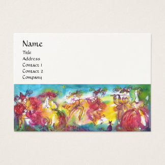 CARNIVAL NIGHT / Venetian Masquerade,Dance Music Business Card