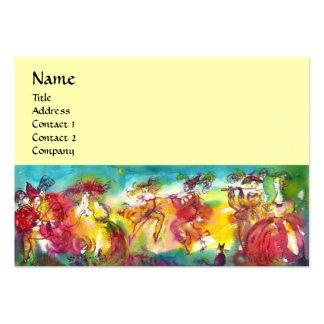 CARNIVAL NIGHT / Venetian Masquerade,,Dance Music Large Business Card