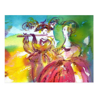 CARNIVAL NIGHT / Venetian Masquerade,,Dance Music Postcard
