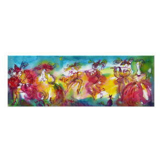CARNIVAL NIGHT / Venetian Masquerade,,Dance Music Poster