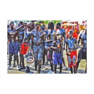 Carnival of Martinique Canvas Print