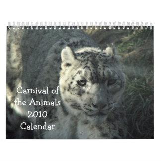 Carnival of the Animals 2010 Calendar