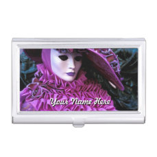 Carnival of Venice Business Card Holder