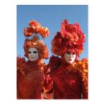 Carnival of Venice Postcard