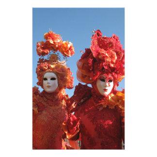 Carnival of Venice Stationery