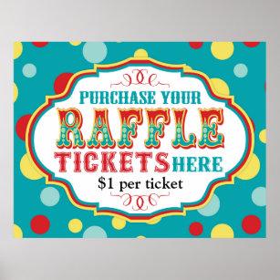raffle ticket sign