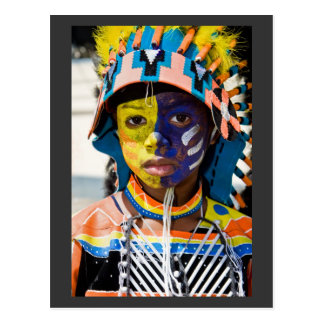 carnival paint post card