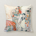 Carnival Performers 1800 Throw Pillows