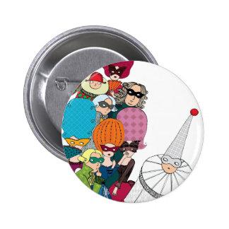 Carnival Pinback Button