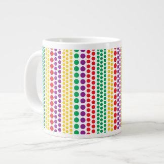 Carnival Rain Polka Dots Specialty Mugs Extra Large Mugs