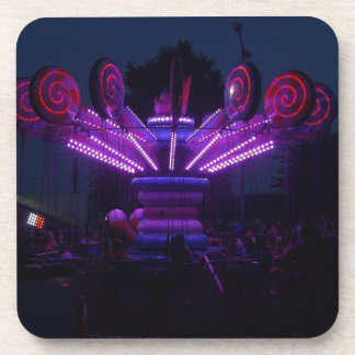 Carnival Ride at Night Drink Coasters