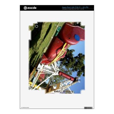 Carnival Ride iPad 3 Skin