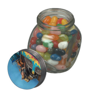 Carnival - Ride - The thrill of the carnival Glass Candy Jars