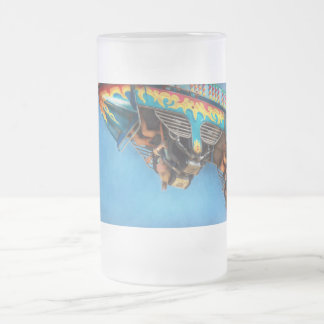 Carnival - Ride - The thrill of the carnival Frosted Glass Beer Mug