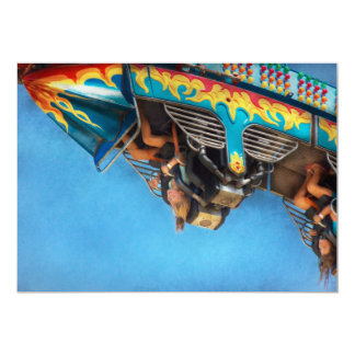 Carnival - Ride - The thrill of the carnival 5x7 Paper Invitation Card
