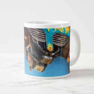 Carnival - Ride - The thrill of the carnival Large Coffee Mug