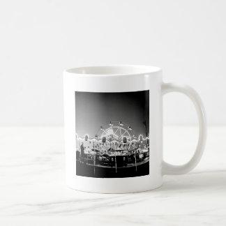 Carnival Rides Circus Vintage Klamath Falls Oregon Coffee Mug