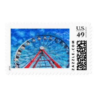 Carnival - Round and Round Stamps