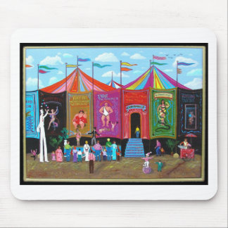 Carnival Sideshow Mouse Pad