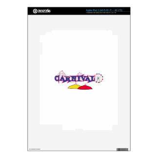 CARNIVAL SKINS FOR iPad 3