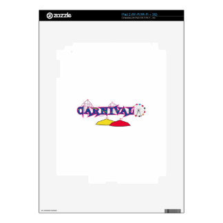 CARNIVAL DECAL FOR iPad 2